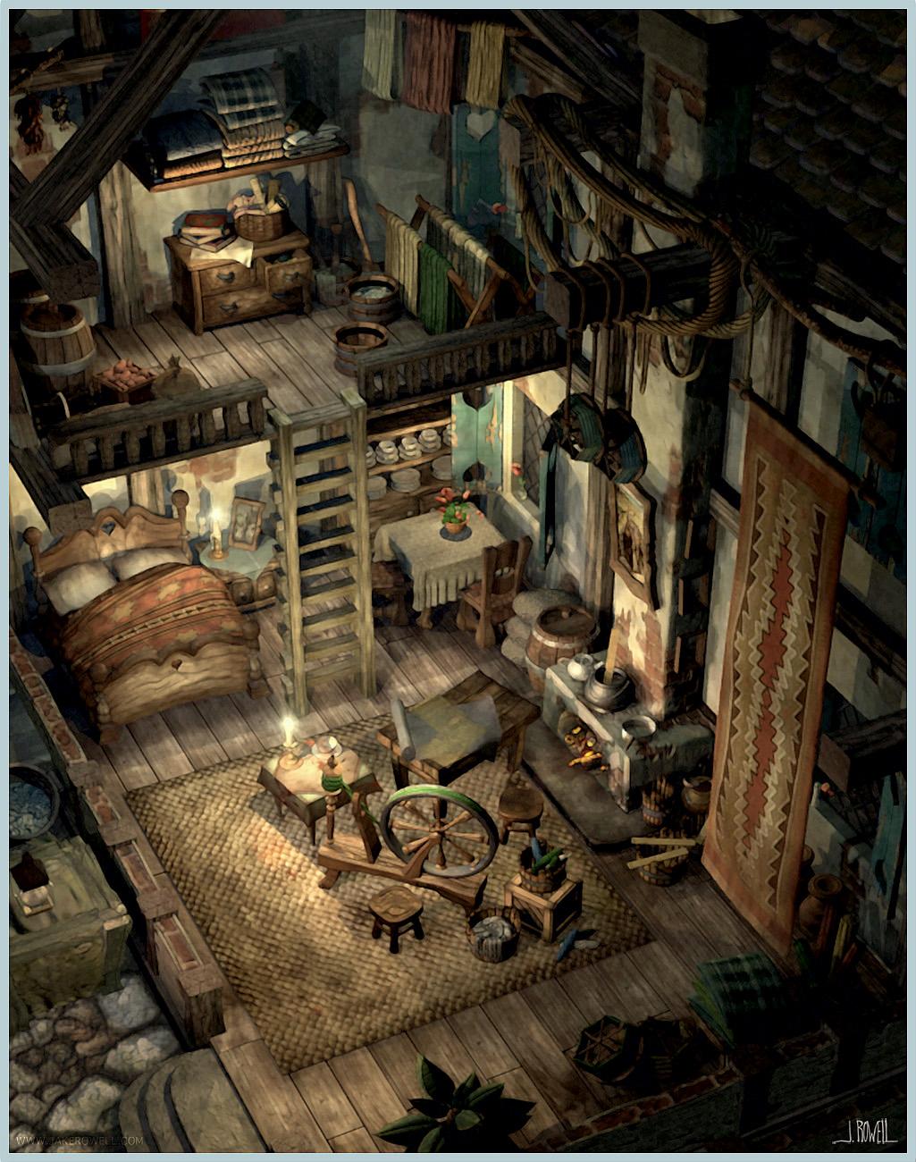 Final Fantasy Ix Jakerowell Design Town1 Jpg