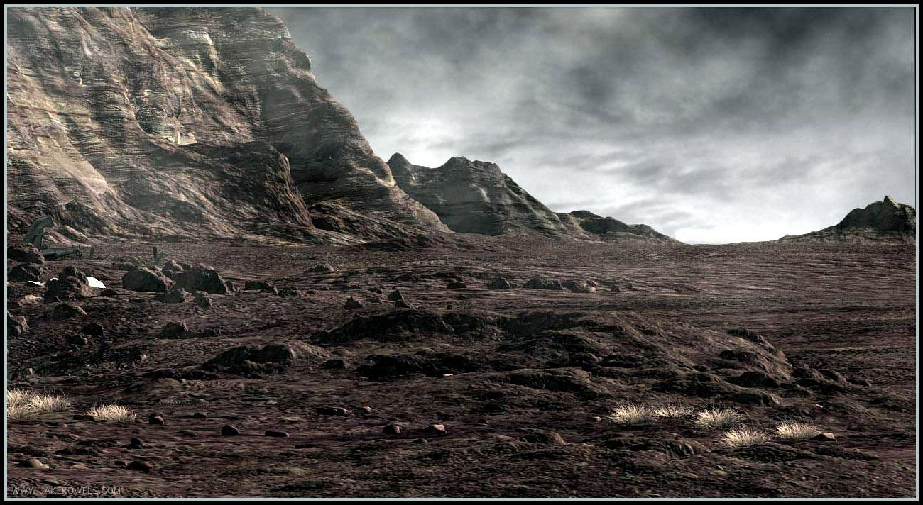 Fantasy wasteland
