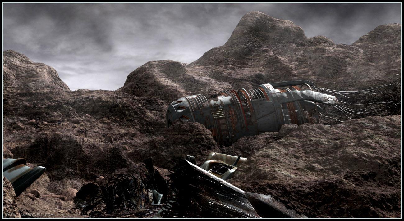 Fantasy wasteland | Adult foto)