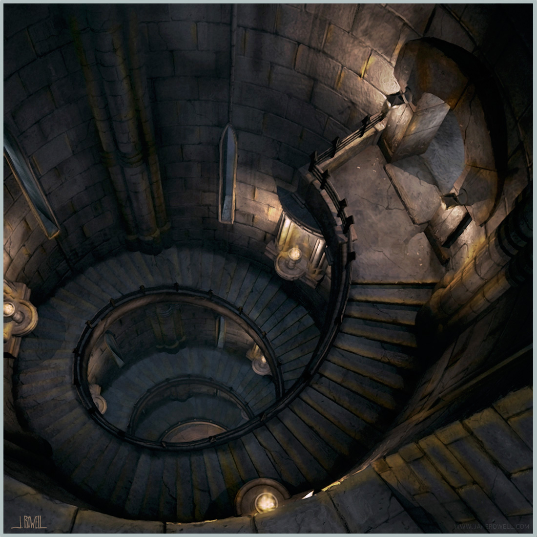 Final Fantasy Ix Jake L Rowell Artist Fantasy Landscape Fantasy Castle Inside Art
