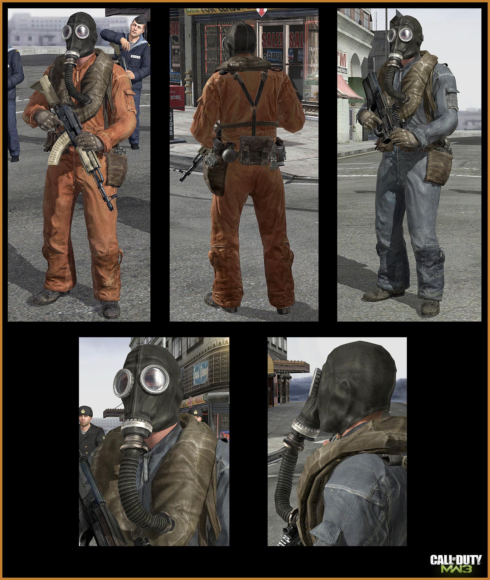Modern Warfare 3 Concept Art