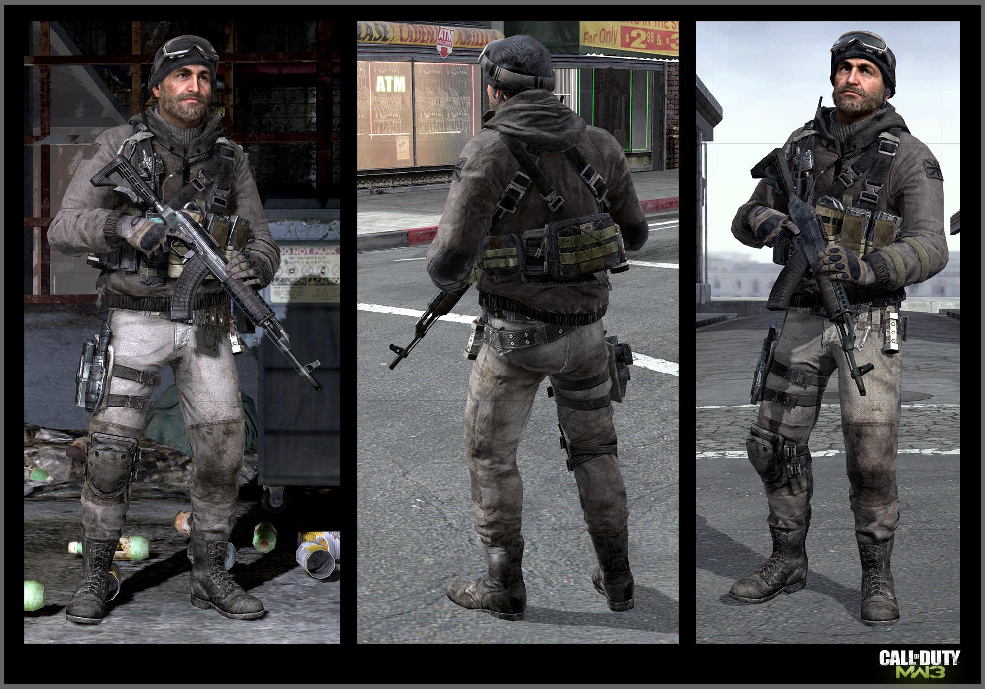 Call of Duty     Modern Warfare 3  captain price  ArtCall Of Duty Mw3 Price