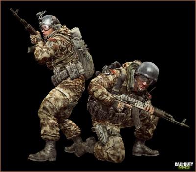 © Activision / Infinity Ward --- Jake Rowell = Character Art  & Marketing Image /  Steven Giesler & Jake Rowell = Head Art  /  Taehoon Oh, Peter Chen, Gennady Babichenko = Weapon Art