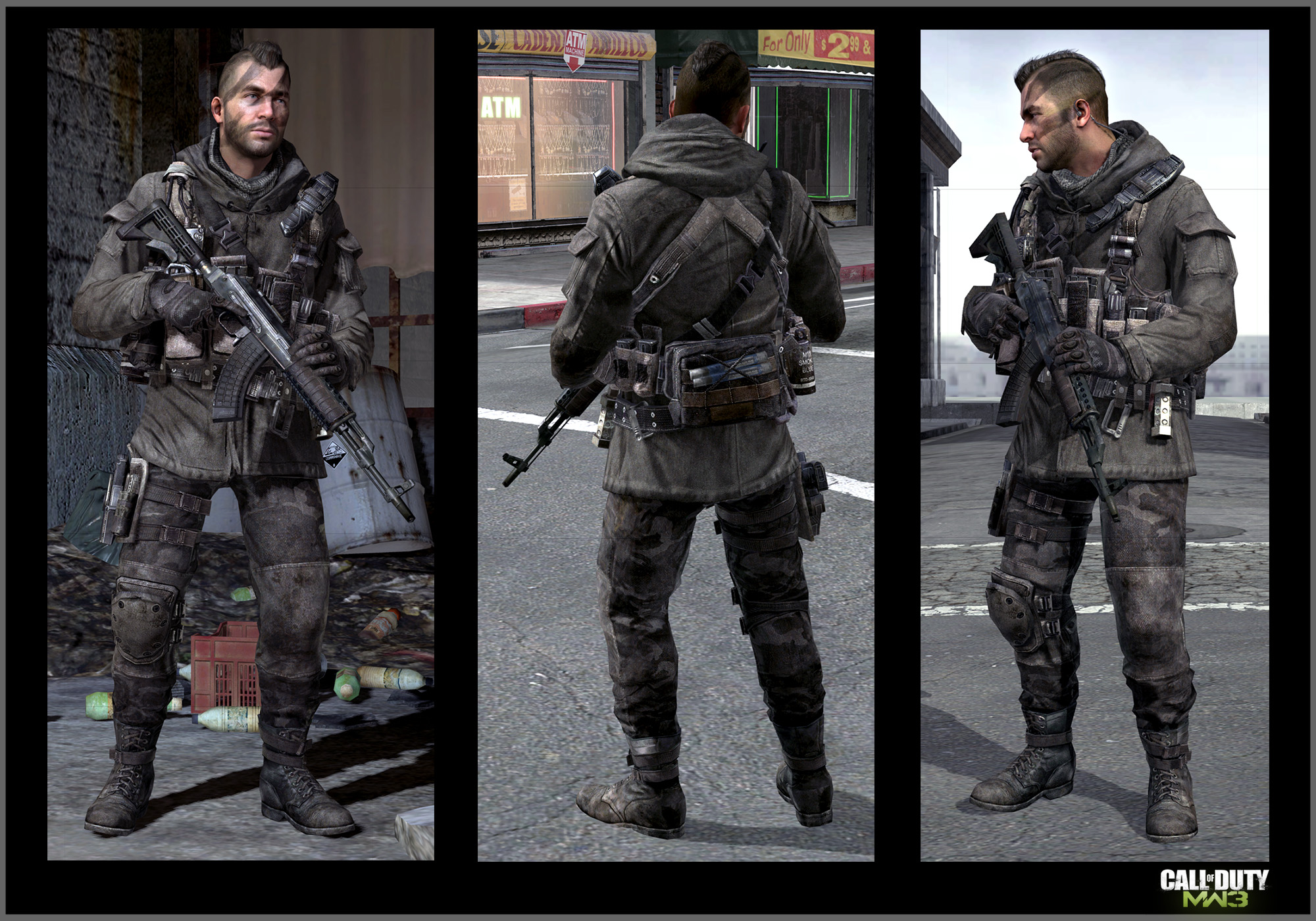 Call Of Duty Modern Warfare 3 Soap Mactavish Art Jake L