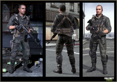© Activision / Infinity Ward --- Jake Rowell = Character Art  & Marketing Image /  Steven Giesler & Jake Rowell = Head Art  /  Taehoon Oh, Peter Chen, Gennady Babichenko = Weapon Art