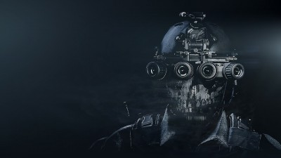 © Activision / Infinity Ward --- Jake Rowell = Art Lead  & Marketing Image /   Chris Barnes = Character Art / Jake Rowell &  James Bradford = Head & Helmet Art
