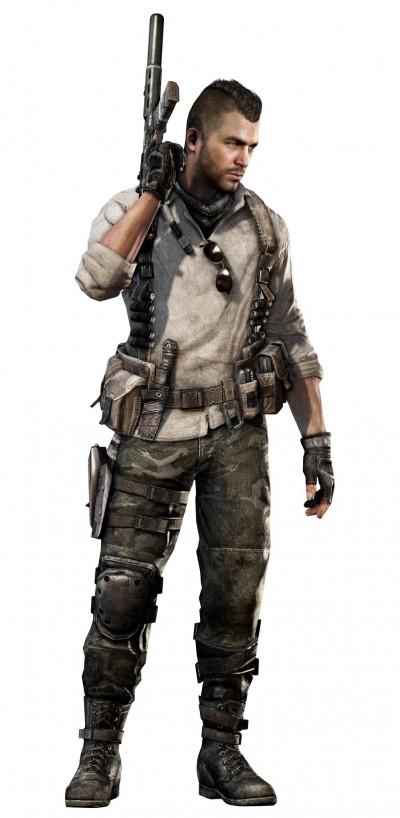 © Activision / Infinity Ward --- Jake Rowell = Character Art  & Marketing Image /  Steven Giesler & Jake Rowell = Head Art  /  Sean Byers = Weapon Art
