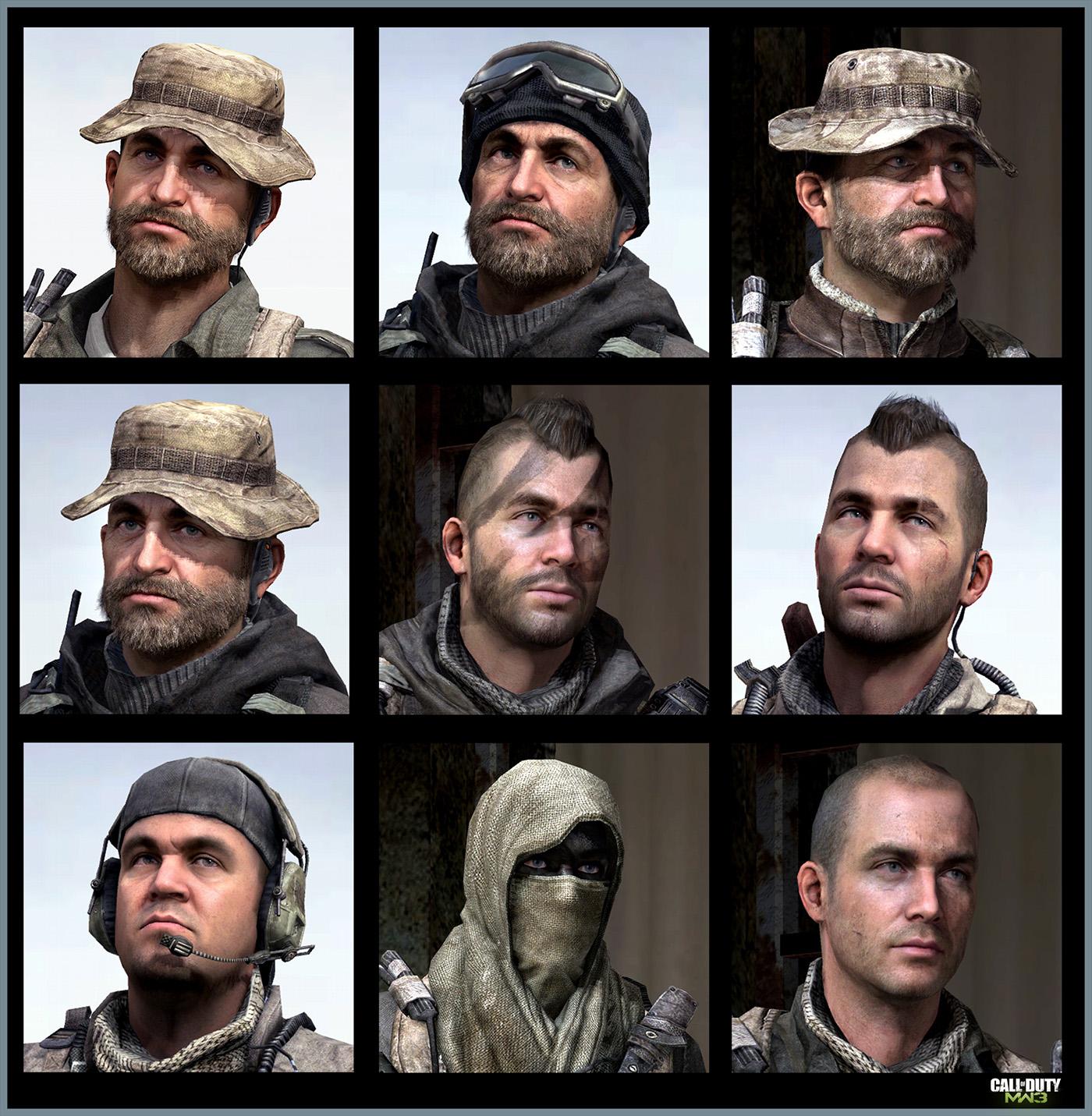 Call Of Duty Modern Warfare 3 Heroes Art Jake L Rowell Artist