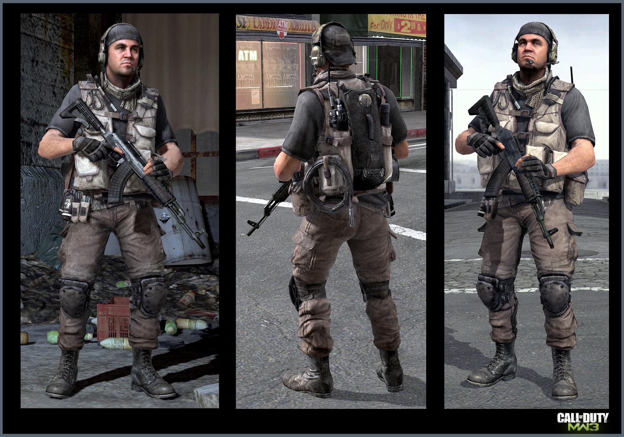 Call Of Duty Modern Warfare 3 Nikolai Keegan Art Jake L