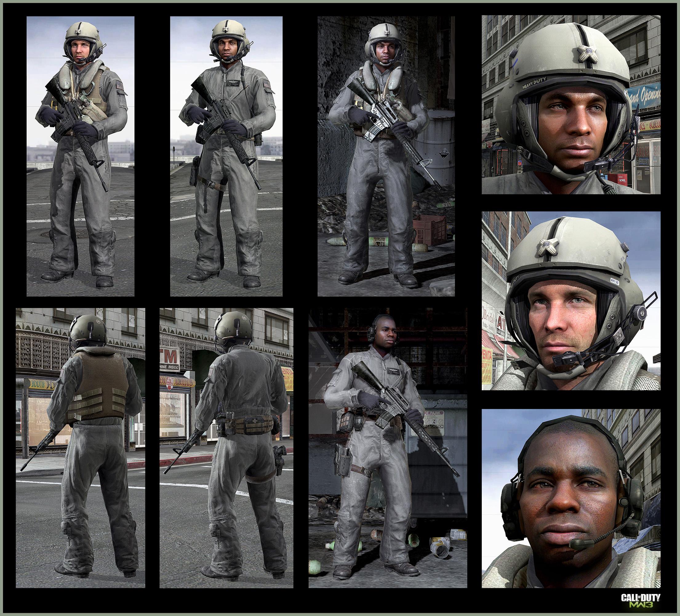 Call Of Duty Modern Warfare 3 Tank Pilots Art Jake L