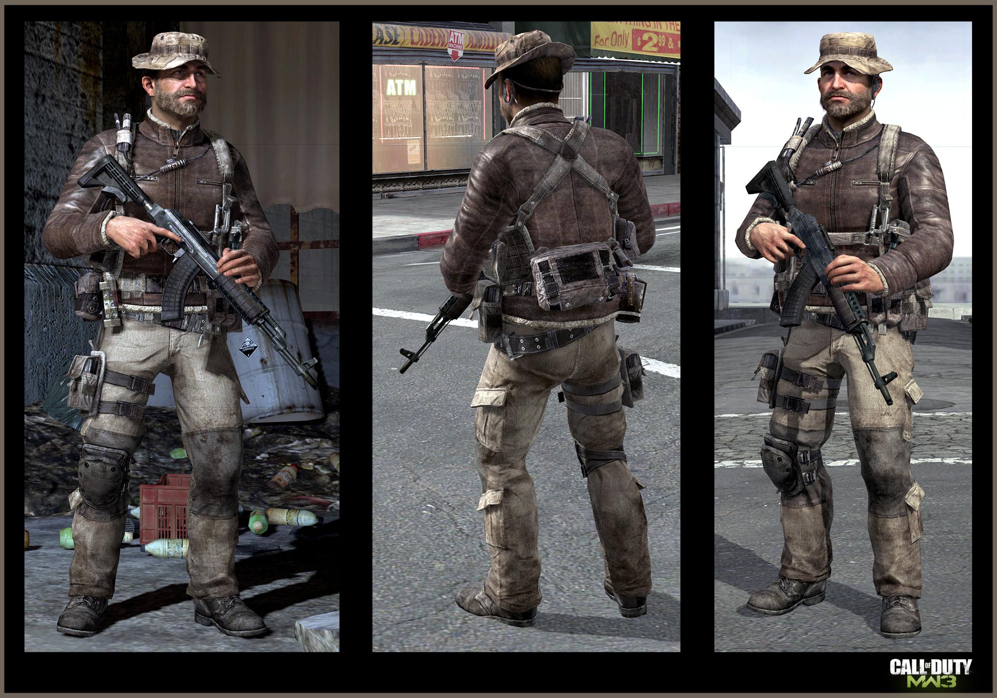 Call Of Duty Modern Warfare 3 Captain Price Art Jake L