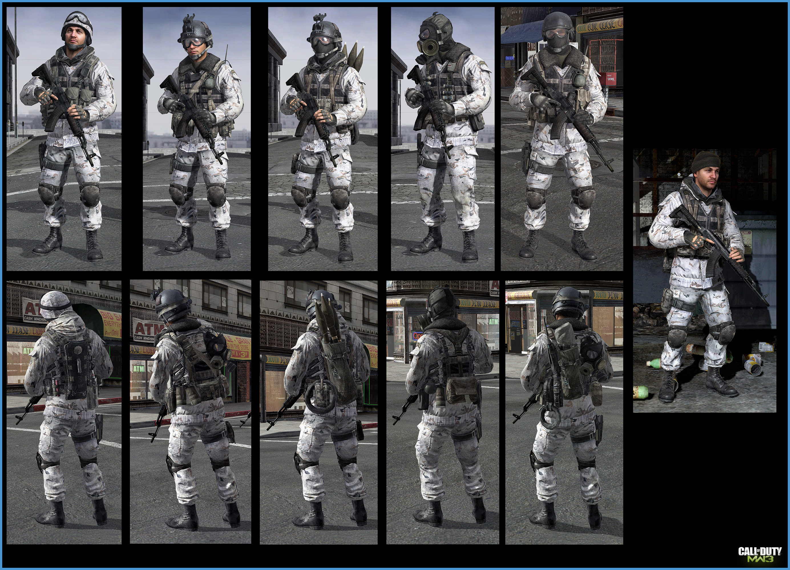 Call Of Duty Modern Warfare 3 Russian Military Art Jake L