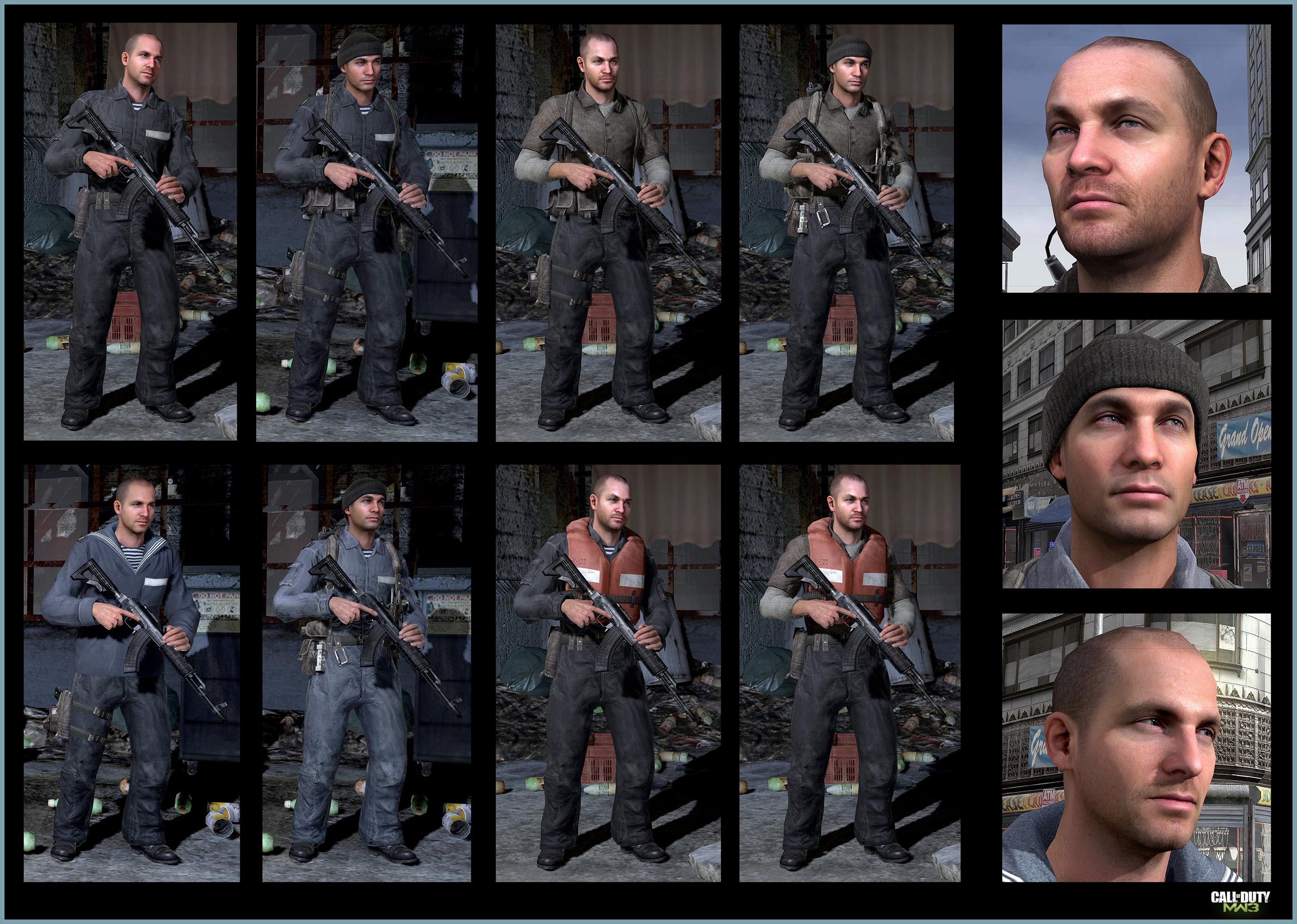 Call Of Duty Modern Warfare 3 Russian Navy Kamarov Art