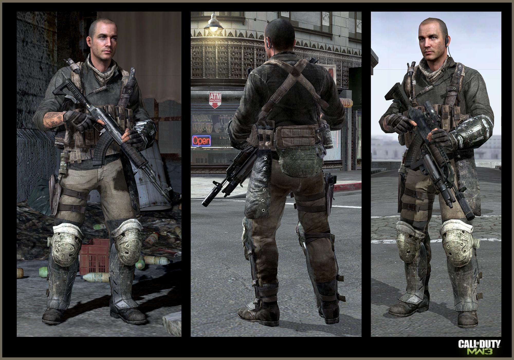 Call Of Duty Modern Warfare 3 Yuri Africa Pmc Art Jake L